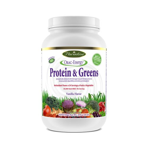 orac energy protein and greens vanilla