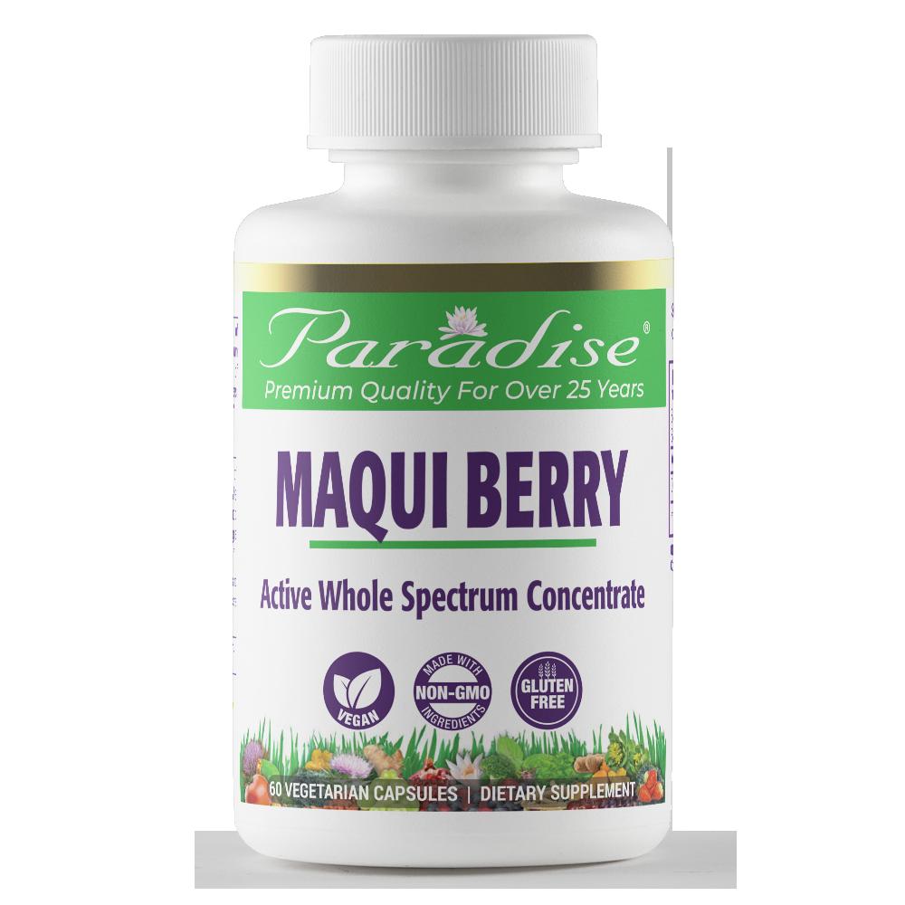 Maqui Berry Organic Paradise Herbs