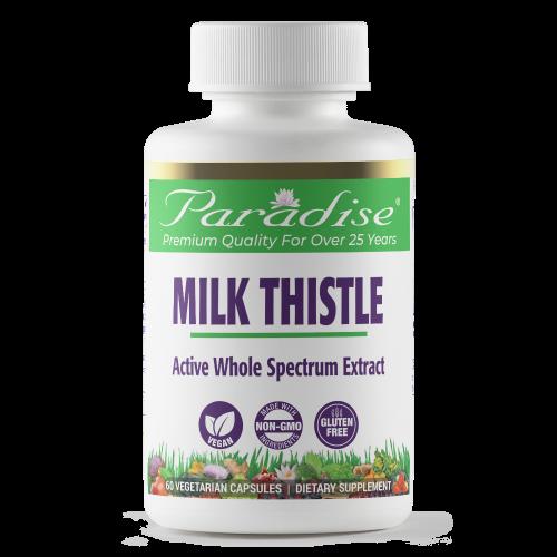 150cc Milk Thistle p front