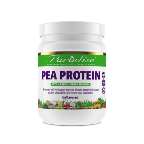 Pea Protein Unflavored front