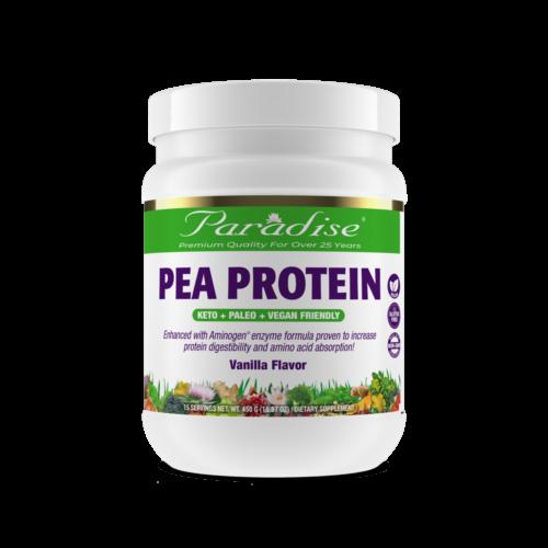 Pea Protein Vanilla Flavored front